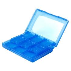 NiceEshop 28 In 1 Blue Game Card Case Holder Cartridge Box For NDS, NDSI, NDSILL, 2DS, 3DS, NEW 3DS, 3DSXL, NEW 3DSLL / XL
