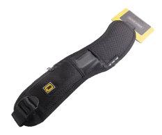 niceEshop cepat leher tali bahu untuk Canon Nikon Sony DSLR kamera (hitam)