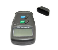 NiceEshop Digital Moisture Meter Wood Firewood Timber Damp Tester Detector (Gray)