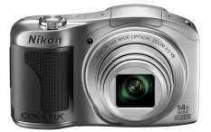 Nikon Coolpix L610 - 16MP - 14x Optical Zoom - Silver