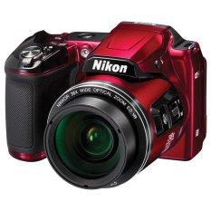 Nikon Coolpix L840 Digital Camera - Merah