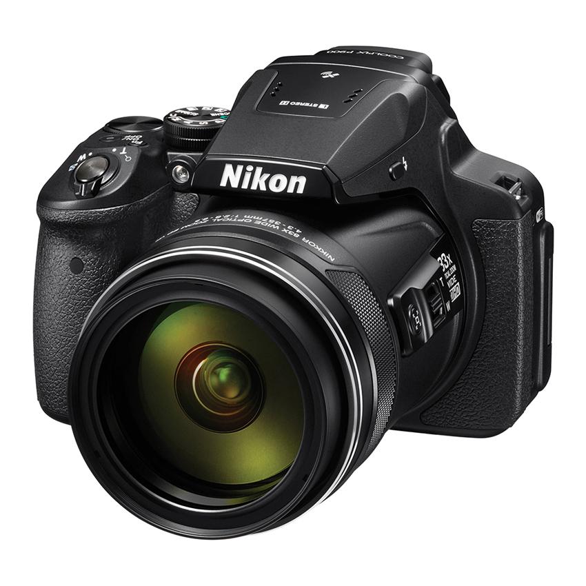 Nikon Coolpix P900 - 16MP - 83x Optical Zoom - Koneksi WIFI/NFC - Hitam + Gratis SDHC 8GB