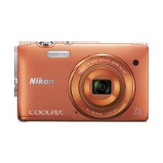 Lihat Detil · Nikon Coolpix S3500 - Orange