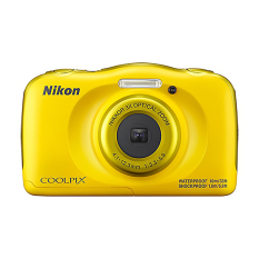 Nikon Coolpix W100 Compact Waterproof Camera - 13.2MP - Kuning
