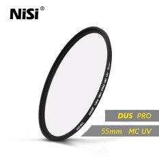 Nisi 55mm MC UV Filter DUS Ultra Slim Professional MC UV Filters Double Sides 12 Layers Multi Coating Filter