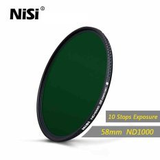 Nisi 58mm Nd1000 Filter Neutral Density Filters Ultra Slim Nd 1000 Gray Filter Mirror Landscape Photography Lens