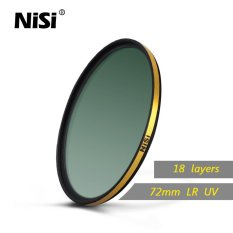 Nisi 72mm LR UV Filters Ultra Thin Super Golden Multi Coating UV Filter 18 Layers Multi Coating Super Waterproof
