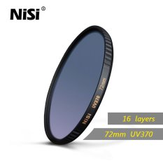 Nisi 72mm UV370 Filter UltraViolet Optical Glass UV Filters Super Clear Ultra Thin Multi Coating Filter Waterproof