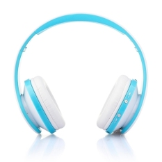 NX-8252 Bluetooth Fold High Fidelity Surround Sound Wireless Stereo Headset with Mic (Blue) (Intl)