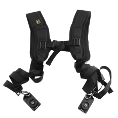 OEM Black Double Shoulder Sling Strap For Camera