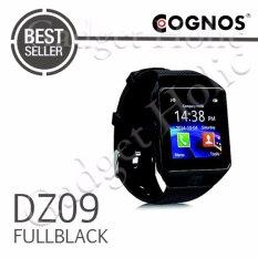 Onix Cognos ZGPAX Smartwatch DZ09 - GSM Sim Card - Strap Karet - FULL Hitam