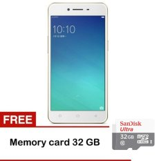 Oppo A37 - 16GB - Rose Gold - Gratis Memory Sandisk 32GB Class 10