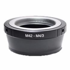 Optic Pro Adapter M 42 To Micro M 4/3 (Black)