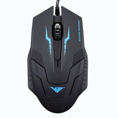 Optical USB Wired Gaming Mouse (Black)