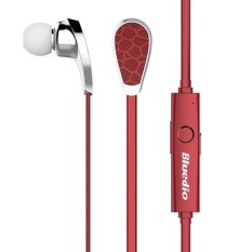Original Bluedio N2 Bionic Bluetooth Headset Sport In Ear Headphone V4.1 EDR Wireless Earphone Stereo Fone De Ouvido Sem Fio (Red) (Intl)