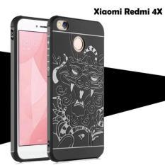 Original Dragon Cococase Case Xiaomi Redmi 4X Motif Naga - Hitam