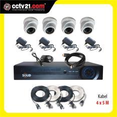 PAKET CCTV PROMO 4 Ch AHD + DVR 1.3MP