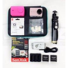 Paket Valentine Xiaomi Yi 2 4K Monopod Ori Free Gift Box & Greeting Card Black