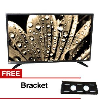 "Panasonic 32"" LED Digital HD TV - Hitam (Model TH-32D306)"