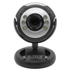PC Camera 6 Light Bulat - Webcam