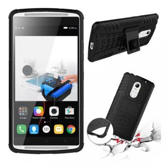 PC + TPU Hybrid Armor Kickstand Case for Lenovo K4 Note(Black) -intl