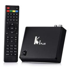 Perfect Android TV Box KI PLUS T2 S2 Amlogic S905 Quad Core 64bit Streaming Media Player Support DVB-S2 DVB-T2 4K KODI Media Player