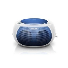 Philips Boombox CD Radio AZ-100N - Putih-Biru