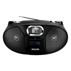 Philips AZ-385 Portable CD Soundmachine FM AM Radio USB Player AZ385 Only 220V (Export) - Intl