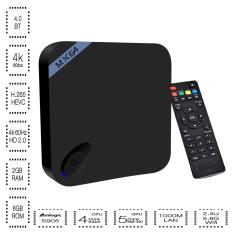 Plater MX64 Android Lollipop 5.1 TV Box Kodi Amlogic S905 Quad-core 2GB / 8GB 1000M / LAN 2.4/5.8GHz WiFi Bluetooth 4.0 - Intl
