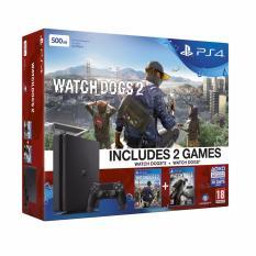 Playstation 4 Slim 500GB CUH-2016A Watch Dogs 2 + Watch Dogs Bundle