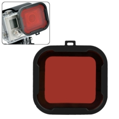 Polar Pro Aqua Cube Snap-on Dive Housing Filter For GoPro HERO4/3 + (Red)
