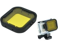 Polar Pro Aqua Cube Underwater Diving Filter Color-Correction Filter For GoPro 3 + / 4 (Yellow)