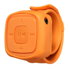Portable Wrist Mini Sport TF Card MP3 Player Gift Wristband (Orange) - Intl