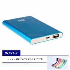 Power Bank Slim 128000mAh + Free USB LED Light