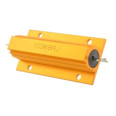 Power Wirewound Resistor Metal Aluminum 8 Ohm 100W - Intl