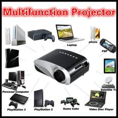 Private Dual HDMI SD USB AV VGA Video Family Movie Proyector Full HD Game Easy Micro Projector EMP GP8S LCD Mini Portable 4K Home Theater - intl