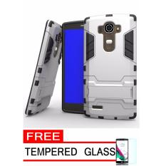 ProCase Shield Rugged Kickstand Armor Iron Man PC+TPU Back Covers for LG G4 -