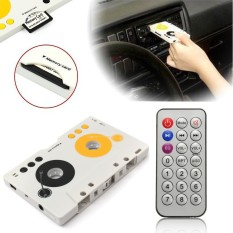 Promotion Vintage Car Tape Cassette SD MMC MP3 Player Adapter Kit With Remote Control And Instruction High Quality - Intl