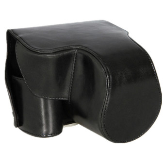 Protective Case Bag Cover Protector For Panasonic Lumix FZ200 Black Fixed Lens