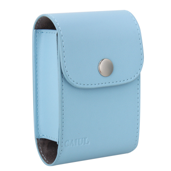 PU Collecting Films Case LENS Bag For Instax Mini 7.8 9.25 (Blue)
