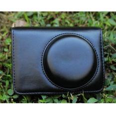 PU Leather Bag Case W / Strap For Panasonic LX3 LX5 / Leica D-LUX4 D-LUX5 - Black (Intl)