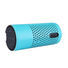 PU Leather Case Cover Bumper Skin For Amazon Tap Alexa-Enabled Portable Bluetooth Speaker In Blue