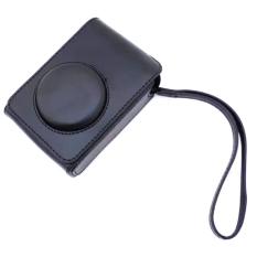 PU Leather Case Digital Camera Case Cover Bag For Fujifilm XQ1 XQ2 XF-1 XF1 Digital Camera (Black)