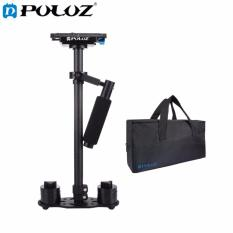 PULUZ S60T 38.5-61cm Carbon Fibre Handheld Stabilizer Steadicam For DSLR and DV Digital Video and Cameras, Capacity Range 0.5-3kg(Black) - intl