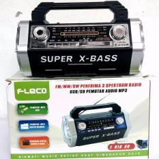 Radio Rodja AM FM SD Card USB Flasdisk Speaker Aktif Emergency Lamp