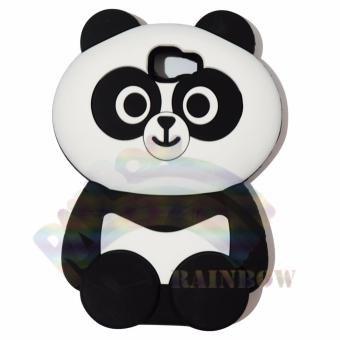 Rainbow Samsung Galaxy J5 Prime Silicone Softcase 3D Boneka Panda Chubby Imut Case .