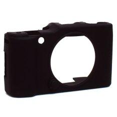 Rainbow Silicon Case Camera For Fujifilm X-M1 / X-A1 / X-A2 / XA2 / XM1 / XA1 Rubber Case Camera / Jelly Case Kamera - Hitam