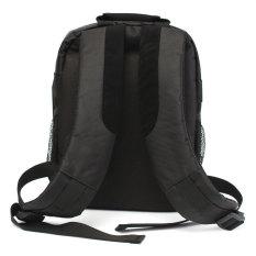Ransel Waterproof DSLR SLR lensa kamera tas ransel untuk Canon Nikon Sony (hitam)
