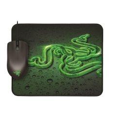 Razer Abyssus 1800 Gaming Mouse Bundle with Razer Goliathus Speed - Hitam
