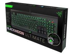 Razer Mechanical Gaming Keyboard Blackwidow Ultimate T1 2014 Green Switch